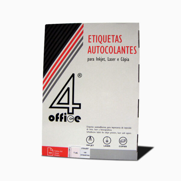 Etiqueta autocolante 4office