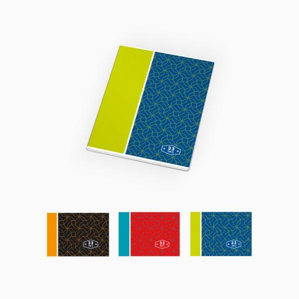Caderno agrafado - Thirty3.collection