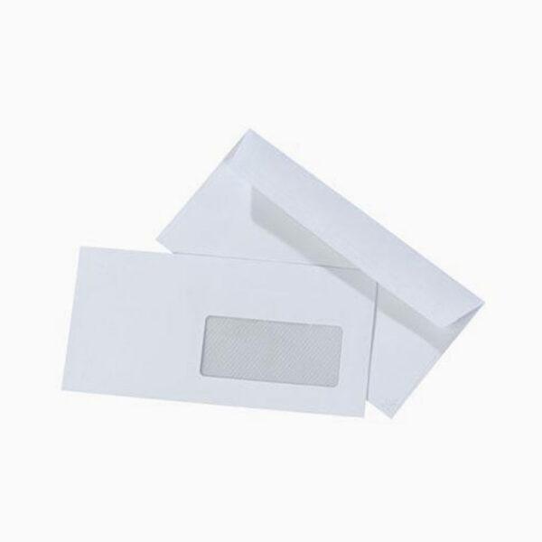 Envelope com tira de silicone