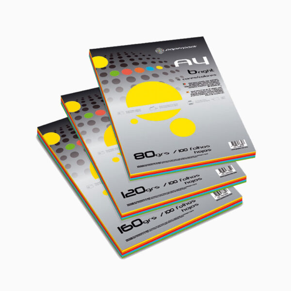 Papel Paperpack cores fortes
