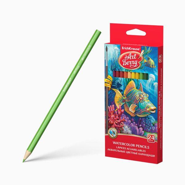Lápis de cor aguarela ErichKrause