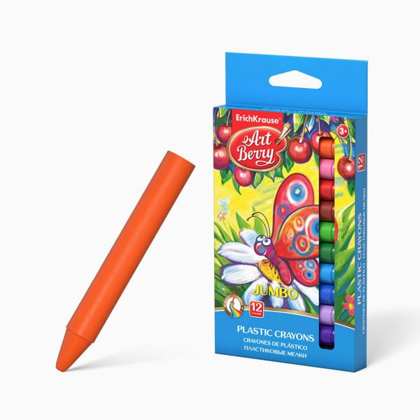Lápis de plástico ErichKrause ArtBerry Jumbo