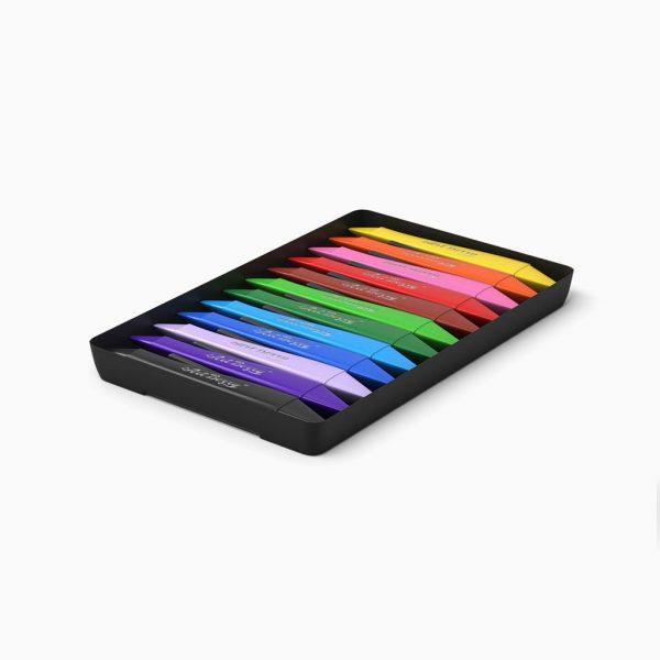 Lápis de plástico ponta dupla ErichKrause ArtBerry