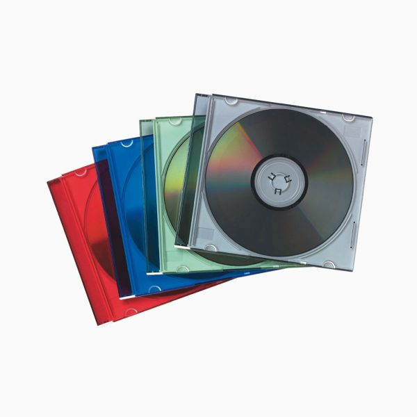 Caixa de CD / DVD slim Fellowes