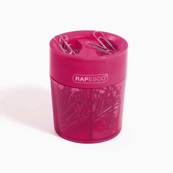 Copo magnético para clips Rapesco