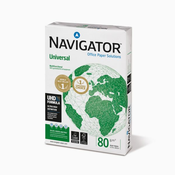 Papel de cópia Navigator Universal - resma