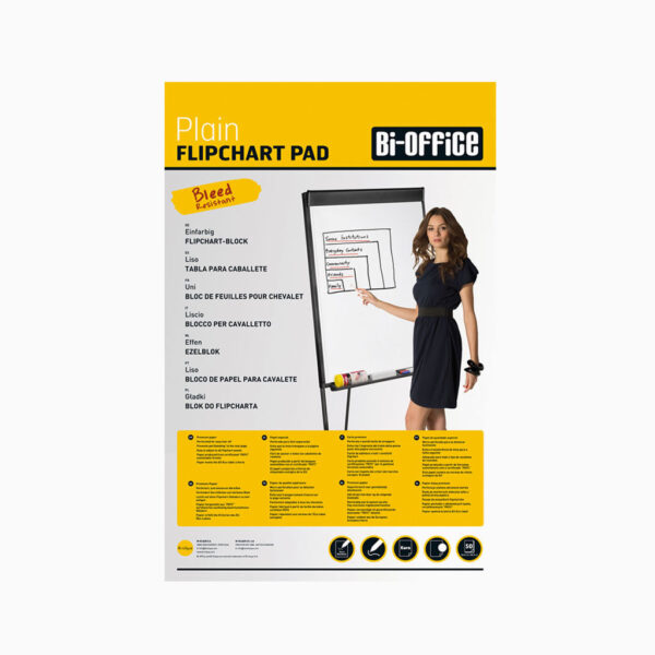 Bloco de papel para flipchart Bi-Office