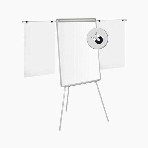 Flipchart Easel magnético com braços Bi-Office