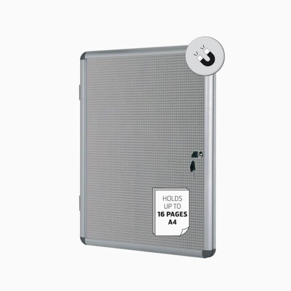 Vitrine de interior em cortiça / metal Bi-Office