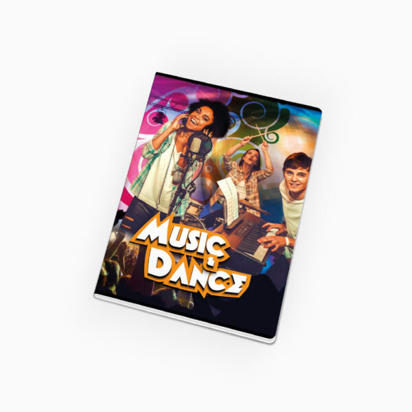 Caderno agrafado - Music & Dance '17