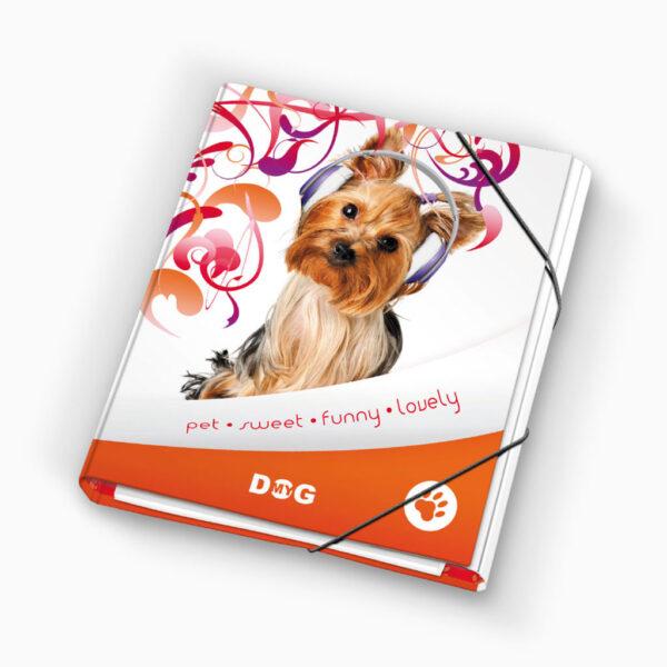 Capa classificadora com recarga e separadores – My Dog