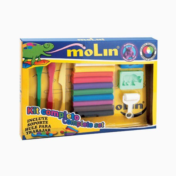 Kit completo de plasticina Molin