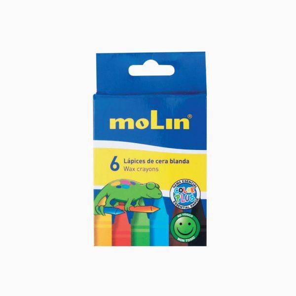 Lápis de cera macia Molin