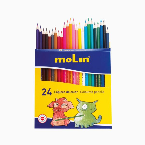 Lápis de cor comprido Molin