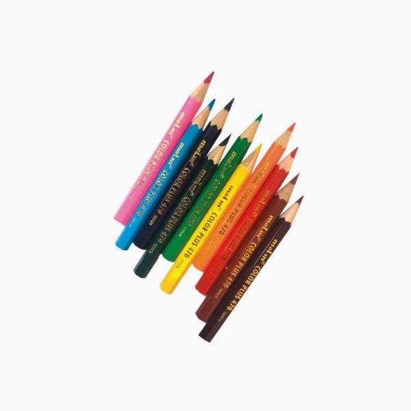 Lápis de cor curtos Molin