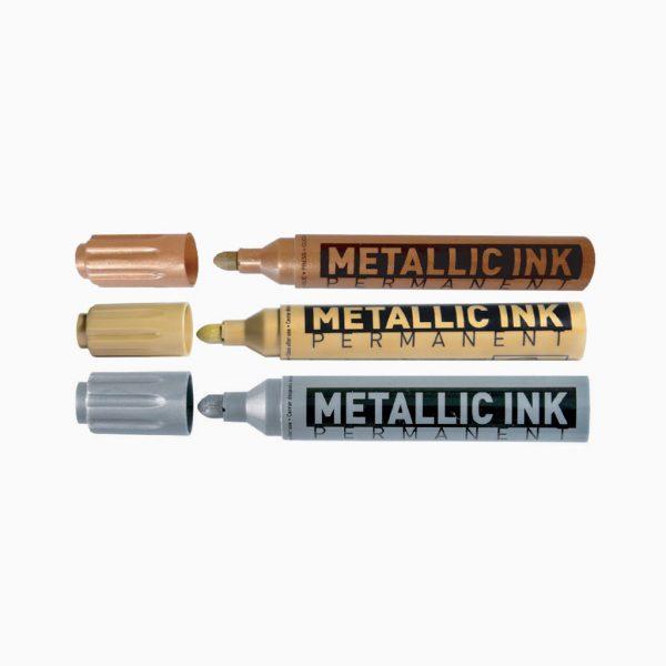 Marcador permanente de tinta metállica Molin Signo MT
