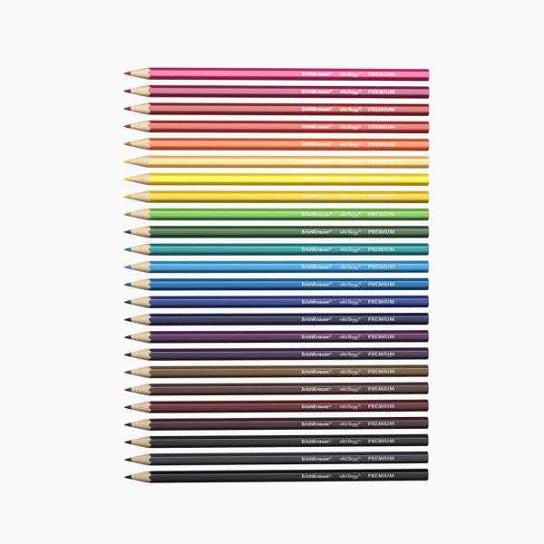Lápis de cor em caixa metálica ErichKrause ArtBerry Premium