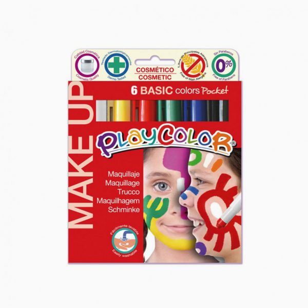 Guache sólido Instant Playcolor Make UP Pocket
