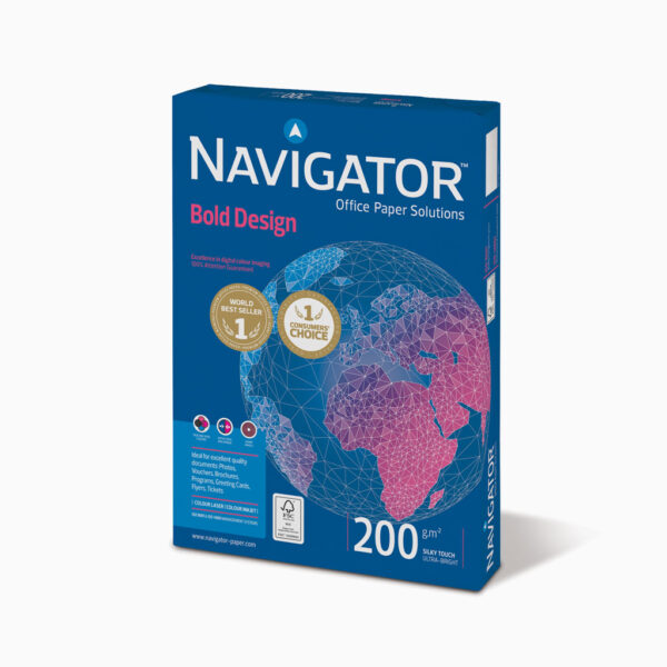 Papel de cópia Navigator Bold Design